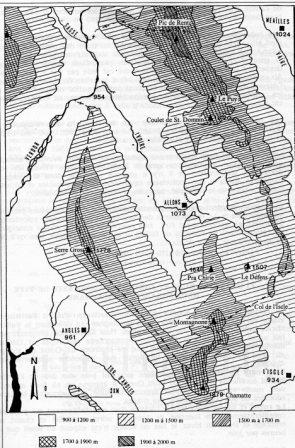 Carte orographique